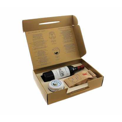 Médoc Box : confiserie à la noisette et vin du Médoc