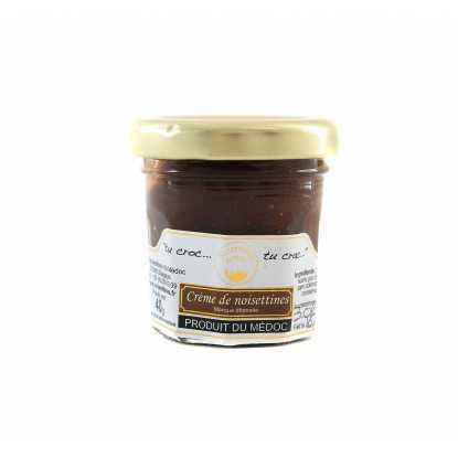 Pâte à tartiner Noisettine : confiserie à la noisette du Médoc, produits du terroir du Sud Ouest