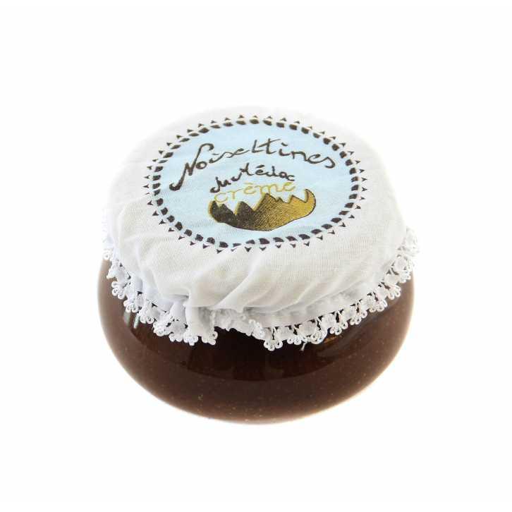 pâte à tartiner du médoc : confiserie à la noisette du Médoc, produits du terroir du Sud Ouest