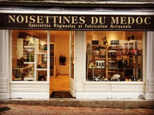 Boutique de confiserie à la noisette à Bordeaux